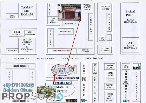 Office For Rent in Taman Desa Jaya, Kuala Terengganu Freehold Semi Furnished 4R/2B 700translationmissing:en.pricing.unit