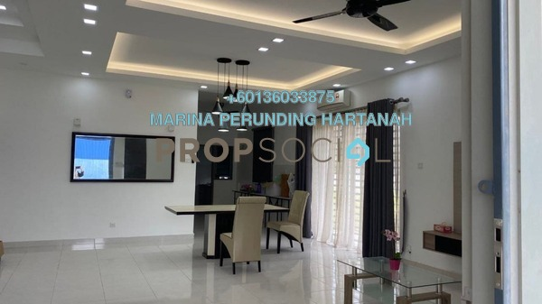 Terrace For Sale in Taman Cherry, Ipoh Freehold Unfurnished 5R/4B 816k