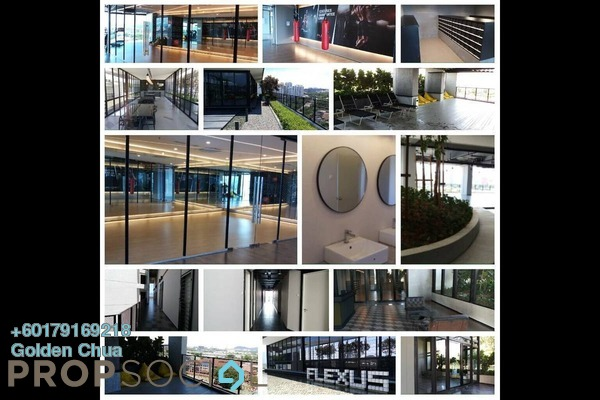 SoHo/Studio For Rent in Flexus Signature Suites, Segambut Freehold Semi Furnished 0R/1B 1.35k