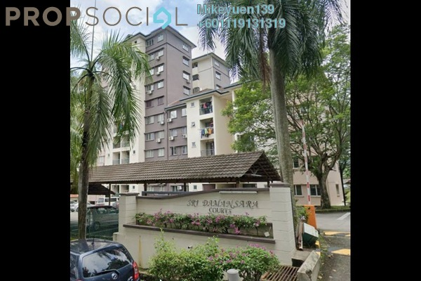 Apartment For Sale in Sri Damansara Court, Bandar Sri Damansara Freehold Unfurnished 2R/2B 255k