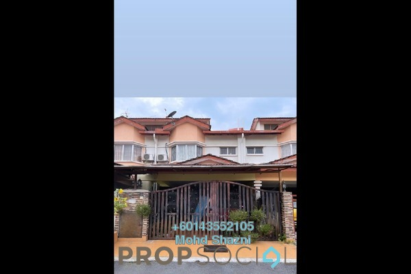 Terrace For Sale in Seksyen 8, Bandar Baru Bangi Freehold Semi Furnished 4R/3B 600k