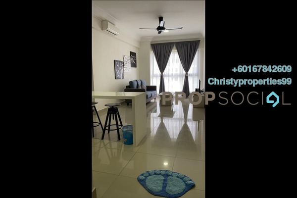 Condominium For Rent in V @ SummerPlace, Johor Bahru Freehold Fully Furnished 2R/1B 1.3k