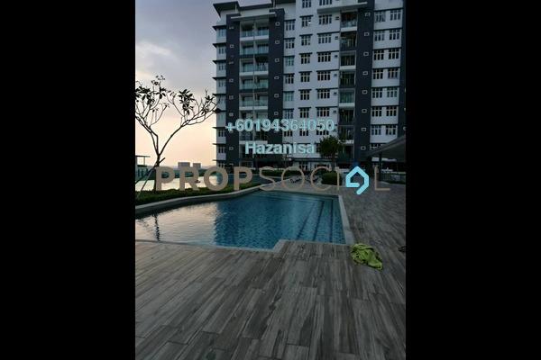 Condominium For Sale in Lavender Residence, Bandar Sungai Long Freehold Unfurnished 0R/0B 485k