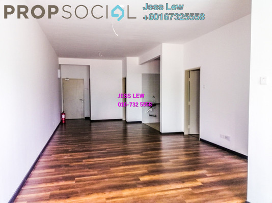 Apartment For Sale in Camellia Residences, Bandar Sungai Long Freehold Unfurnished 3R/2B 398k