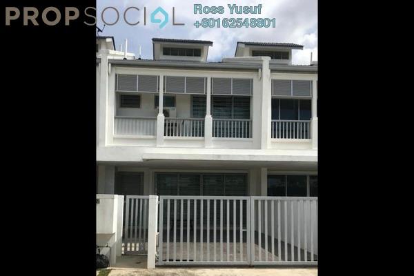 Terrace For Sale in Perennia, Bandar Rimbayu Freehold Semi Furnished 4R/4B 790k