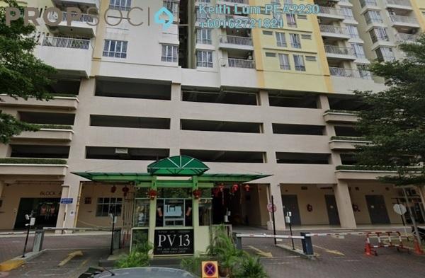 Condominium For Rent in Platinum Lake PV13, Setapak Freehold Semi Furnished 4R/2B 2k