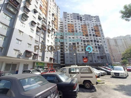 Apartment For Rent in Sri Penara, Bandar Sri Permaisuri Freehold Semi Furnished 3R/2B 1.2k