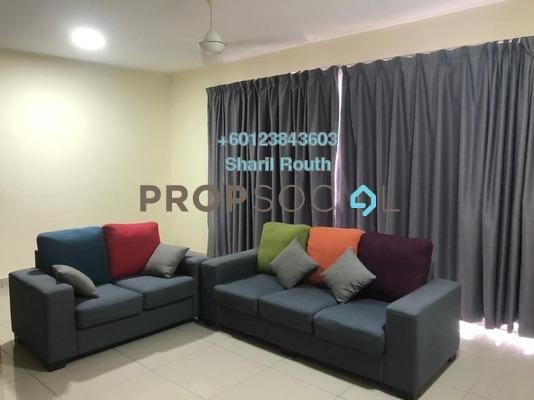 Apartment For Rent in Dwiputra Residences, Putrajaya Freehold Fully Furnished 3R/2B 1.9k