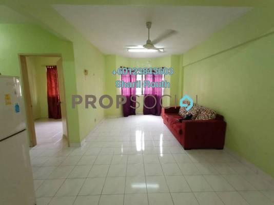 Apartment For Rent in Carmila Apartment, Kota Damansara Freehold Semi Furnished 3R/2B 1.2k