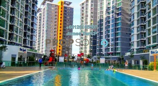 Condominium For Sale in Vista Alam, Shah Alam Freehold Unfurnished 3R/2B 405k