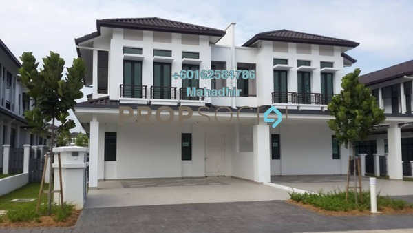 Semi-Detached For Sale in Eco Majestic, Semenyih Freehold Unfurnished 5R/5B 999k
