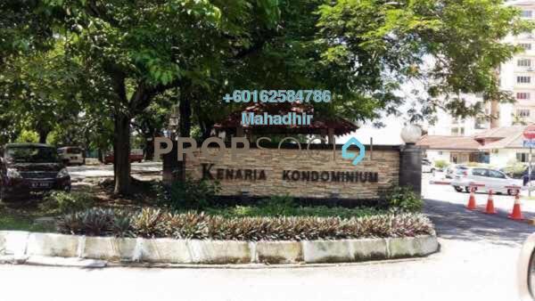 Condominium For Sale in Kenaria Condominium, Kajang Freehold Semi Furnished 3R/2B 270k