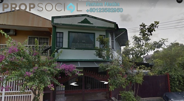 Terrace For Sale in Taman Kencana, Pandan Indah Freehold Semi Furnished 4R/3B 530k