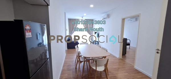 Condominium For Rent in LakeFront Residence, Cyberjaya Freehold Fully Furnished 4R/4B 2k
