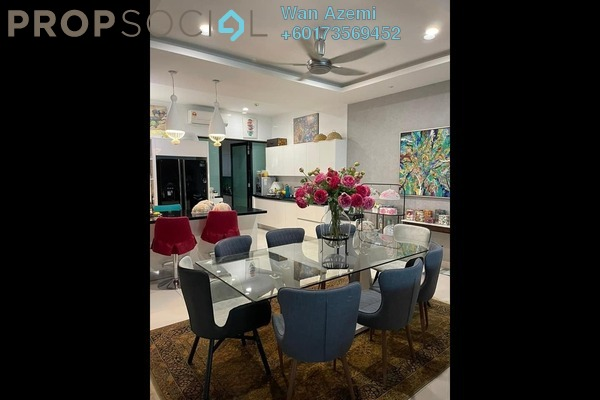 Terrace For Sale in Duta Villa, Setia Alam Freehold Fully Furnished 5R/5B 1.75m