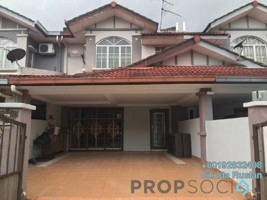 Terrace For Sale in Berjaya Park, Shah Alam Freehold Semi Furnished 4R/3B 560k