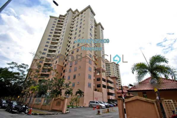 Apartment For Sale in Zamrud Apartment, Old Klang Road Freehold Unfurnished 3R/2B 398k
