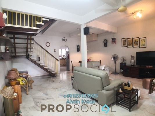 Terrace For Sale in Taman Onn, Ipoh Leasehold Unfurnished 4R/3B 280k