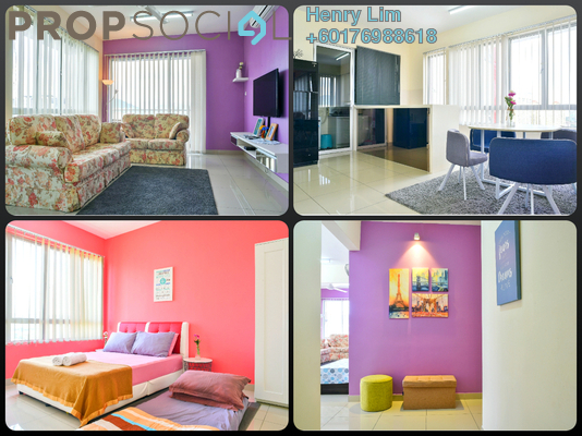 Serviced Residence For Rent in Platinum Lake PV21, Setapak Freehold Fully Furnished 3R/2B 1.9k