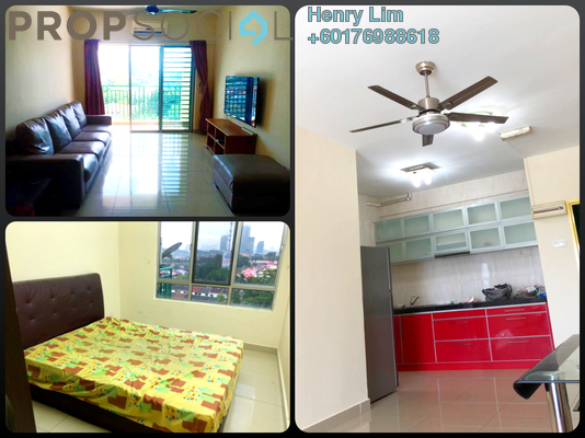 Serviced Residence For Rent in Connaught Avenue, Cheras Freehold Fully Furnished 3R/2B 1.4k