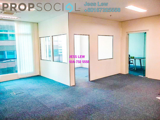 Office For Rent in Soho Suites, KLCC Freehold Semi Furnished 0R/0B 3.2k