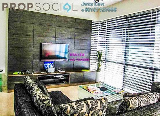 Condominium For Sale in Panorama, KLCC Freehold Fully Furnished 2R/2B 1.5m