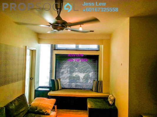 Condominium For Sale in Park View, KLCC Freehold Fully Furnished 1R/1B 620k