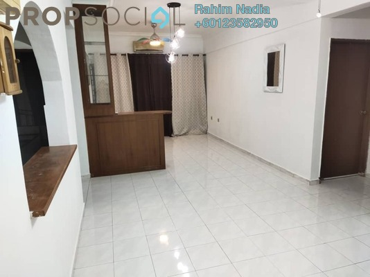 Apartment For Sale in Taman Daya, Tebrau Freehold Semi Furnished 3R/2B 250k