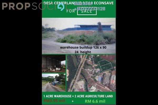Land For Sale in Taman Desa Cemerlang, Ulu Tiram Freehold Unfurnished 1R/2B 3.95m