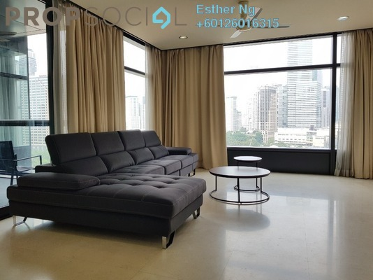 Condominium For Rent in The Troika, KLCC Freehold Fully Furnished 3R/5B 6.5k
