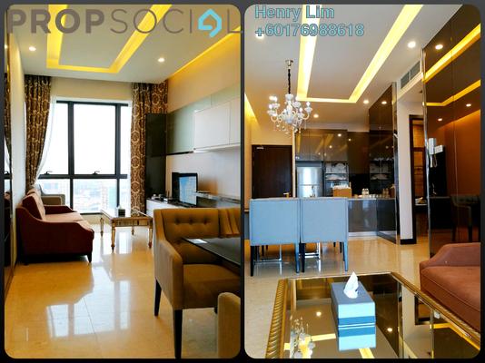 Serviced Residence For Rent in Dorsett Residences, Bukit Bintang Freehold Fully Furnished 2R/2B 2.8k