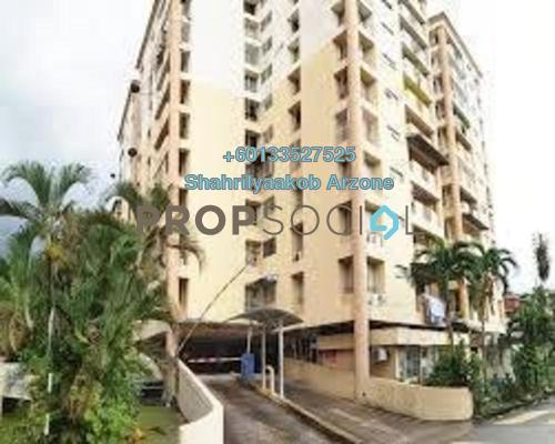 Apartment For Sale in Le Jardine, Pandan Indah Freehold Unfurnished 3R/2B 350k