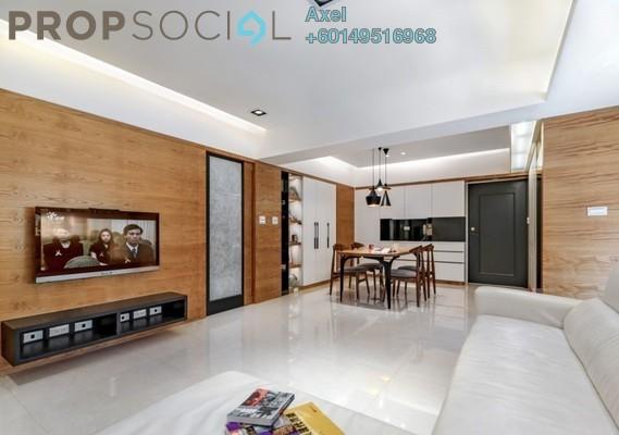 Condominium For Sale in Taman Sri Kuching, Jalan Ipoh Freehold Semi Furnished 3R/2B 600k