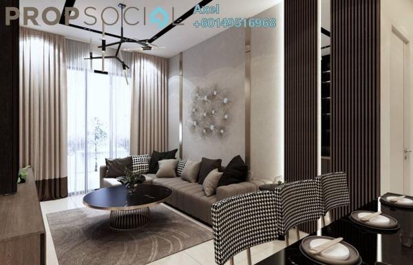 Condominium For Sale in Taman Segambut Indah, Jalan Ipoh Freehold Semi Furnished 4R/3B 590k