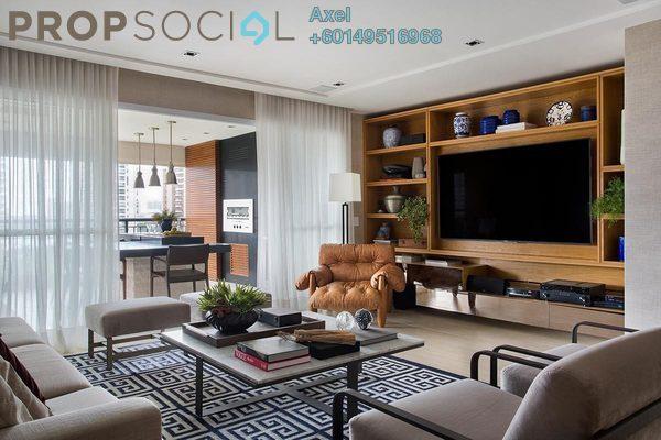 Condominium For Sale in Jalan Bangsar, Kuala Lumpur Freehold Semi Furnished 4R/3B 598k