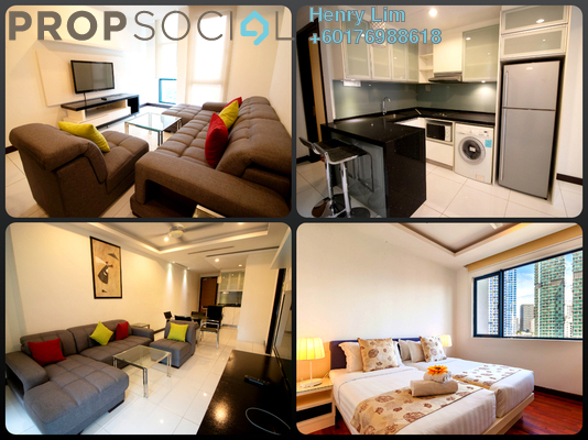 Serviced Residence For Rent in Casa Residency, Pudu Freehold Fully Furnished 2R/2B 1.9k