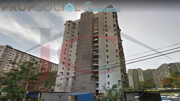 Apartment For Sale in Semarak Api, Farlim Leasehold Unfurnished 2R/1B 112k