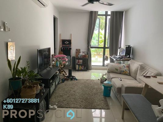 Condominium For Sale in H2O Residences, Ara Damansara Freehold Semi Furnished 2R/2B 510k
