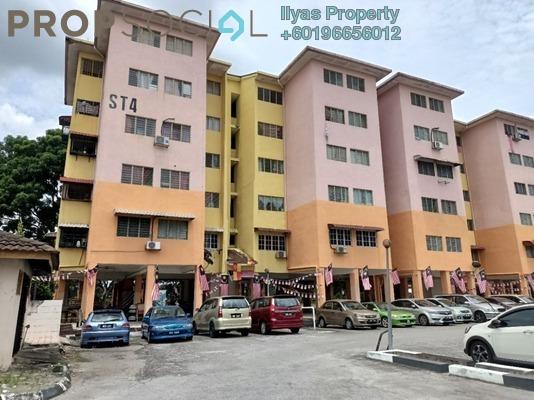 Apartment For Sale in Sri Tanjung Apartment, Bandar Baru Bangi Freehold Unfurnished 3R/2B 190k