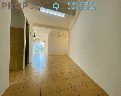 Apartment For Sale in Desa Ria Apartment, Balakong Freehold Semi Furnished 3R/2B 330k