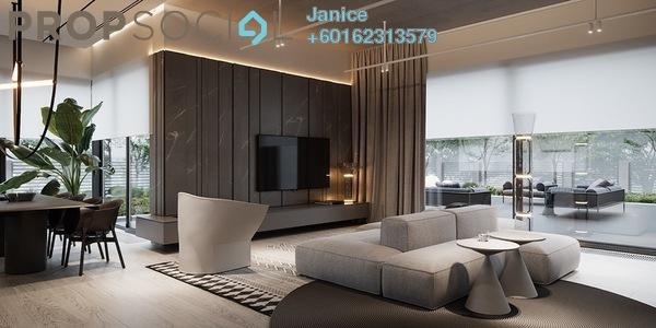 Condominium For Sale in Jalan Sultan Yahya Petra, Kuala Lumpur Freehold Semi Furnished 3R/2B 645k