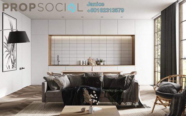 Condominium For Sale in Segambut Jaya, Kuala Lumpur Freehold Semi Furnished 3R/2B 634k