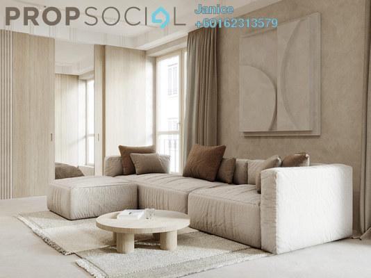 Condominium For Sale in Solaris Mont Kiara, Mont Kiara Freehold Semi Furnished 3R/2B 648k