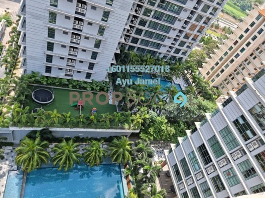 Serviced Residence For Sale in Sri Acappella, Shah Alam Freehold Fully Furnished 3R/4B 880k