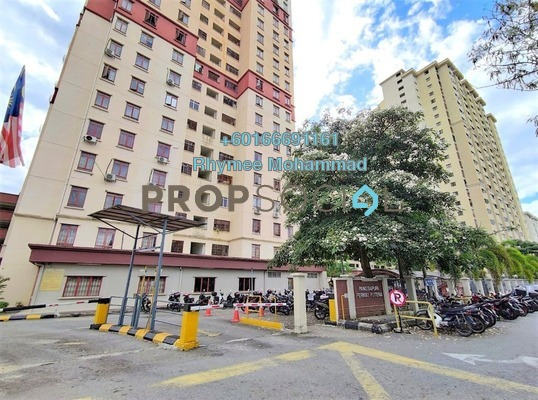Apartment For Sale in Permai Putera, Ampang Leasehold Fully Furnished 3R/2B 340k