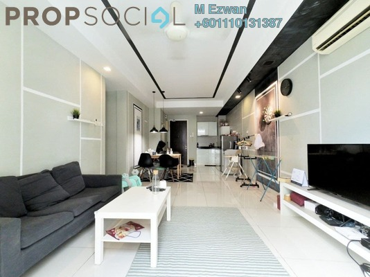 Condominium For Sale in Central Residence, Sungai Besi Freehold Fully Furnished 2R/2B 410k