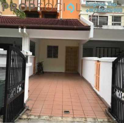 Townhouse For Rent in Villa Mas 1, Jalan Ipoh Freehold Semi Furnished 3R/2B 1.7k