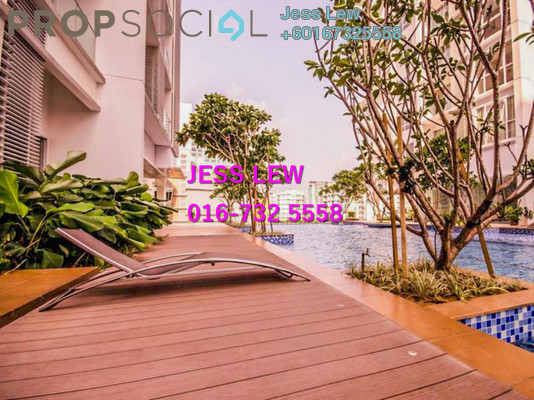 Condominium For Sale in M Suites, Ampang Hilir Freehold Fully Furnished 1R/1B 580k