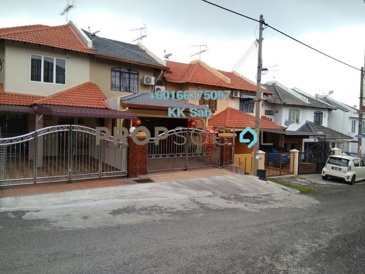Link For Sale in Taman Sri Bahagia, Cheras South Freehold Semi Furnished 4R/3B 528k