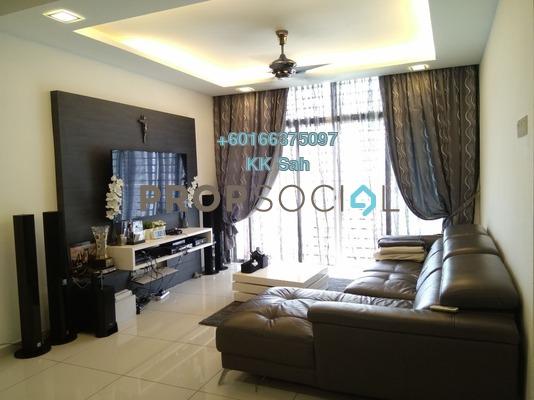 Condominium For Sale in Midfields, Sungai Besi Freehold Semi Furnished 3R/2B 480k